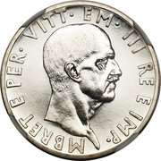 10 Lek - Vittorio Emanuele III (Essai) – avers