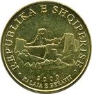 10 lekë (République) – avers