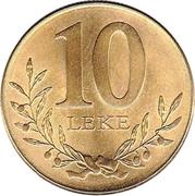 10 leke (magnétique) -  revers