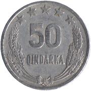 50 qindarka (république populaire socialiste) -  revers