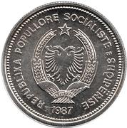 5 lek (République populaire socialiste) -  avers