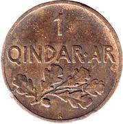 1 qindar Ar (Royaume) – revers