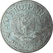 2 lekë (République populaire socialiste) -  avers