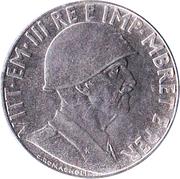 0,20 lek (Occupation Italienne) – avers