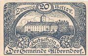 20 Heller (Alberndorf) – avers