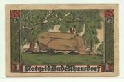 50 Pfennig (Albersdorf, Bad- Gemeinde) – revers