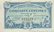 50 centimes - Chambres de Commerce du Tarn [81] – avers