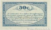 50 centimes - Chambres de Commerce du Tarn [81] – revers