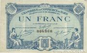 1 franc - Chambres de Commerce du Tarn [81] -  avers
