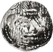 Drachm - Abhimanyu (Gandhara mint) – revers