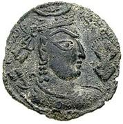 Drachm - Zabolo/Zabocho (Lord of Zabul) (Hadda-Gandhara mint) -  avers