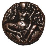 AE Stater- Alchon Huns-Toramana II (530-570 AD) – revers