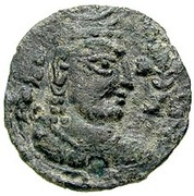 Drachm - Khingila (Lord of Zabul, 2nd ver.) (Hadda-Gandhara mint) -  avers