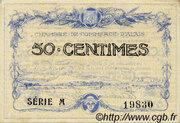 50 centimes - Chambre de commerce d'Alais [Alès, 30] – avers