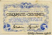 50 centimes - Chambre de commerce d'Alais [Alès, 30] – revers