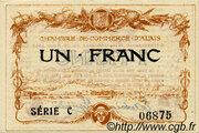 1 franc - Chambre de commerce d'Alais [Alès, 30] – avers
