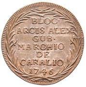 10 Soldi - Marchio de Caralio – revers