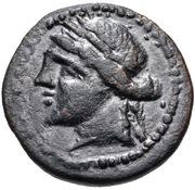 Bronze Æ18 – avers