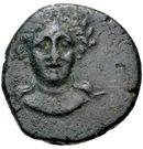 Bronze Æ19 – avers