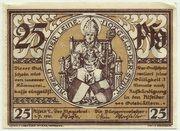 25 Pfennig (Alfeld, Stadt) – avers
