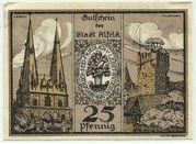 25 Pfennig (Alfeld, Stadt) – revers