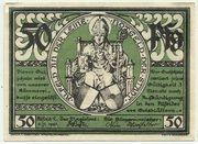 50 Pfennig (Alfeld, Stadt) – avers