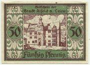 50 Pfennig (Alfeld, Stadt) – revers