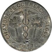 10 centimes (Alger chambre de Commerce) – avers