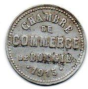 10 centimes (Bougie chambre de Commerce) – avers