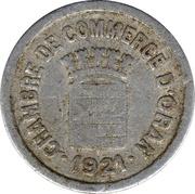 5 centimes (Oran chambre de Commerce) – avers