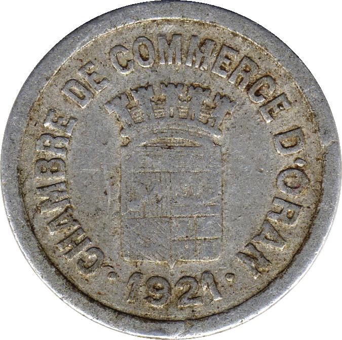5 centimes oran chambre de commerce alg rie numista for Chambre de commerce algerie