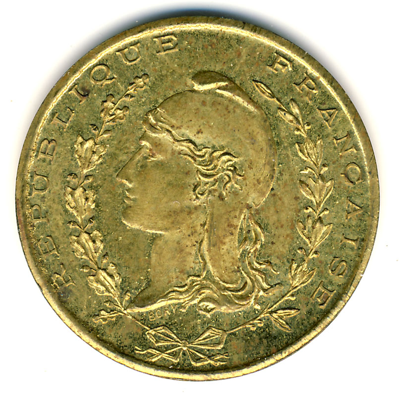 1 franc chambre de commerce b ne alg rie numista for Chambre de commerce franco colombienne