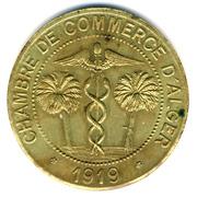 10 centimes Alger-Chambre de Commerce-essai – avers
