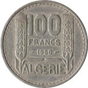 100 francs Turin -  revers