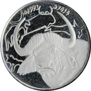 1 dinar -  avers
