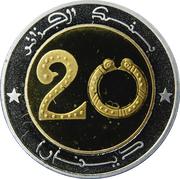 20 dinars -  avers