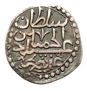 ⅛ Budju, 3 Mazuna - Abdul Hamid I – avers