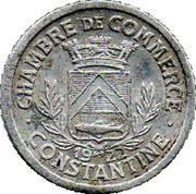 10 centimes (Constantine chambre de Commerce) – avers