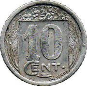10 centimes (Constantine chambre de Commerce) – revers