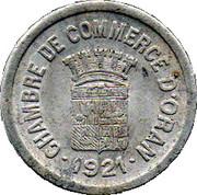 10 centimes (Oran chambre de Commerce) – avers