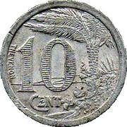 10 centimes (Oran chambre de Commerce) – revers