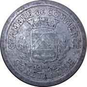 5 Centimes (Chambre de Commerce de constantine) -  avers