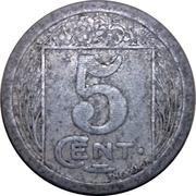 5 Centimes (Chambre de Commerce de constantine) -  revers