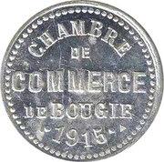 5 Centimes Chambre de Commerce de Bougie ( Petit C ) – avers