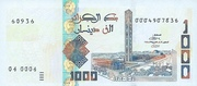 1,000 dinars -  avers