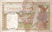 50 Francs – avers