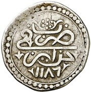 ¼ Budju - Mustafa III – avers
