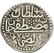 ¼ Budju - Mustafa III – revers