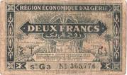 2 francs 1944  2e tirage – avers