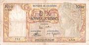 10 nouveaux francs -  avers